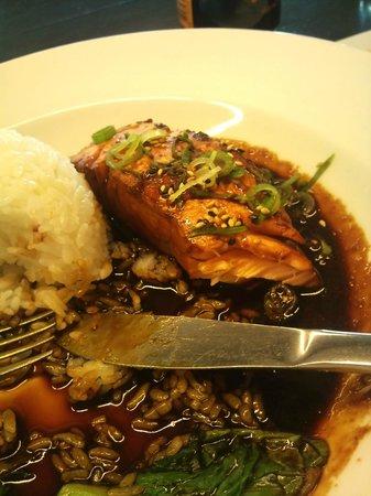 Salmon teriyaki by Nood