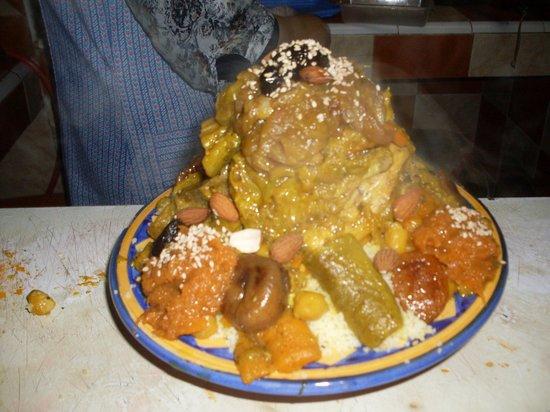 Delices et saveurs : couscous royal