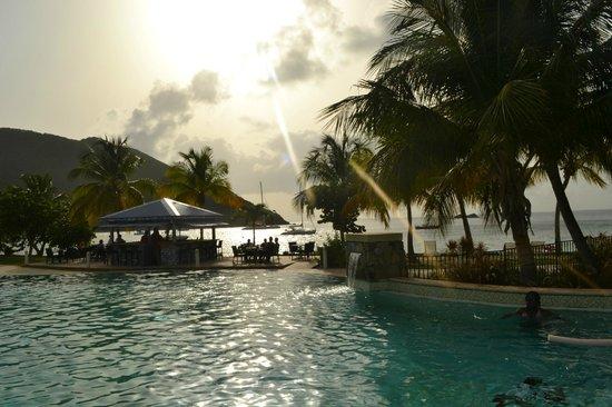 Hotel Riu Palace St Martin: Espace piscine