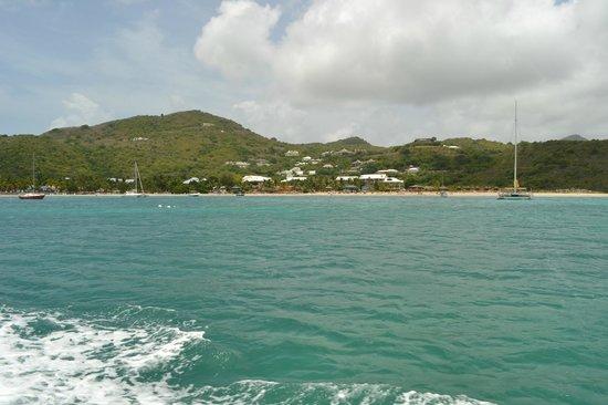 Hotel Riu Palace St Martin: Vue du bateau