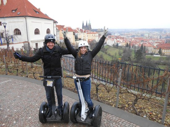 Segway Experience Tours & Rents: We are on the tour..
