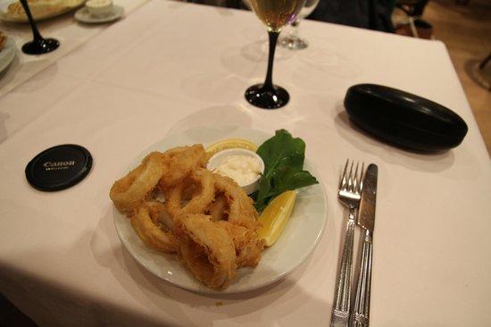 Masal Restaurant : Calamares