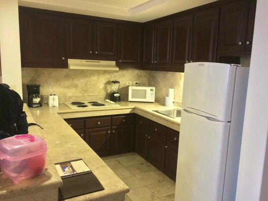 Playa Grande Resort : Suite Kitchen