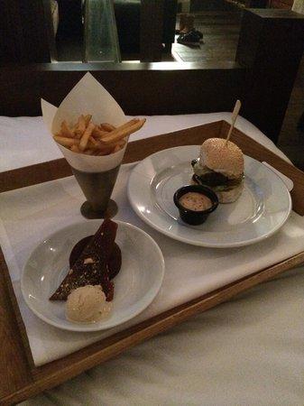 Hotel du Vin & Bistro Newcastle : Room service!