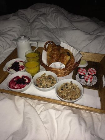 Hotel du Vin & Bistro Newcastle: 'Breakfast in bed' menu