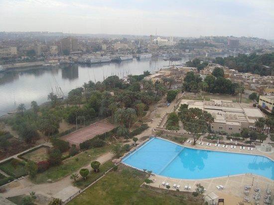 Movenpick Resort Aswan: View from Balacony