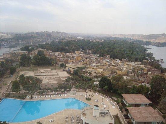 Movenpick Resort Aswan : View from Balacony
