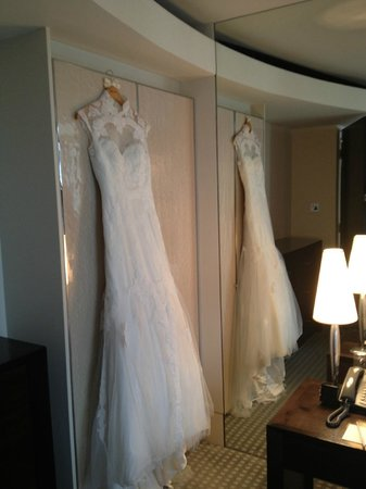 One Aldwych : My Dress with the stunning pressed pearl wardrobe