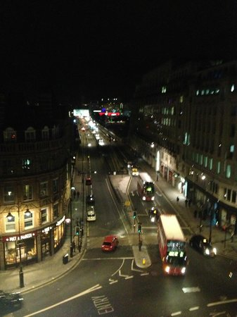 One Aldwych: View at night