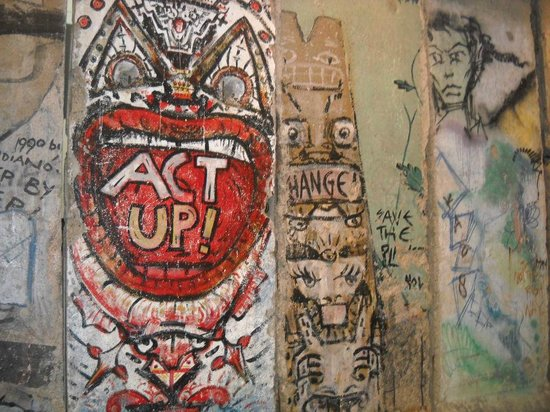 Berlin Wall in Newseum