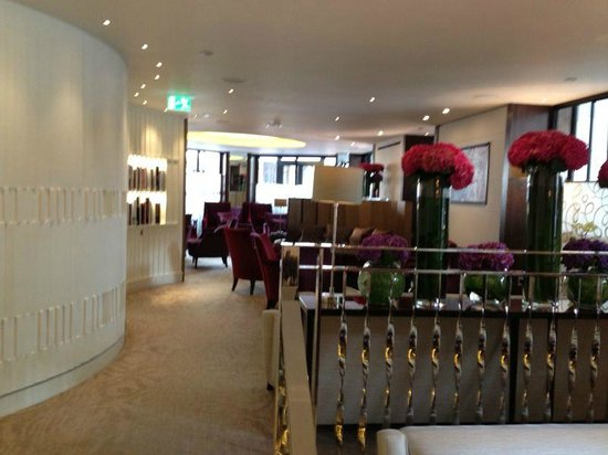 One Aldwych: The private lounge area for hotel guests