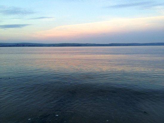 The Fairhaven Hotel: The Sea, as calm as a lake