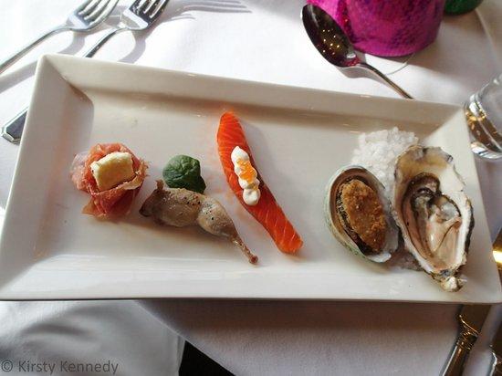 The Bay Restaurant: New Years Eve dinner