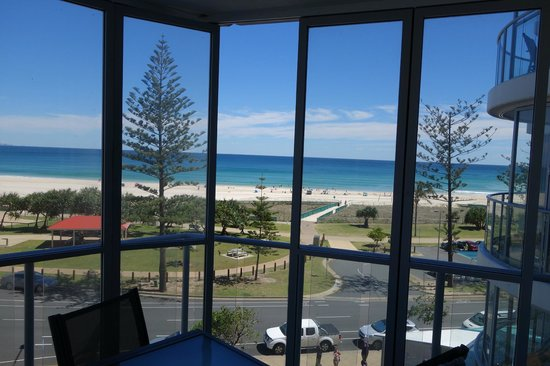 Reflection on the Sea: view from inside unit