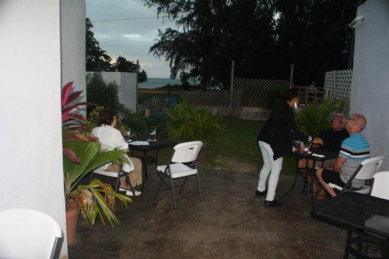 Ay Bonito! Grill: outdoor seating area