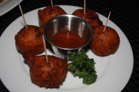 Ay Bonito! Grill: cod fritters