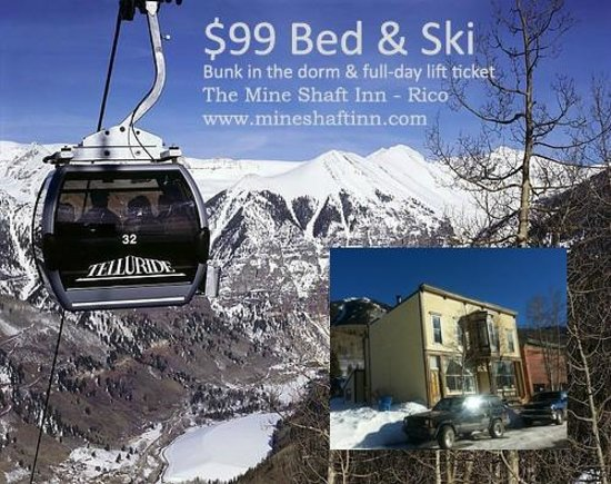 The Mine Shaft Inn Hotel & Hostel : Sweet!