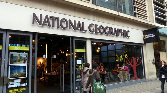 National Geographic Store on Brompton Rd. - Picture of ...