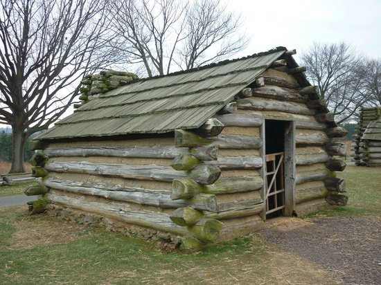Valley Forge National Historical Park: Enlisted Cabins