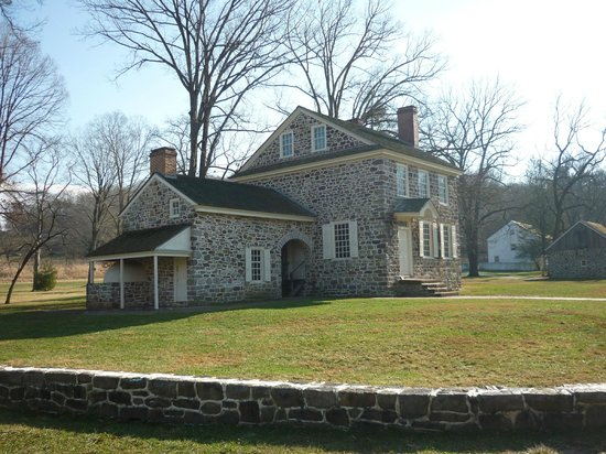 Valley Forge National Historical Park: Washington HQS