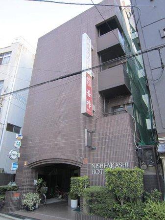 Nishi-Akashi Hotel: 外観