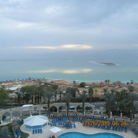 Daniel Dead Sea Hotel: View from my room
