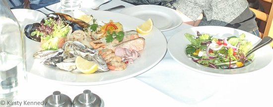 Risby Cove : Seafood platter