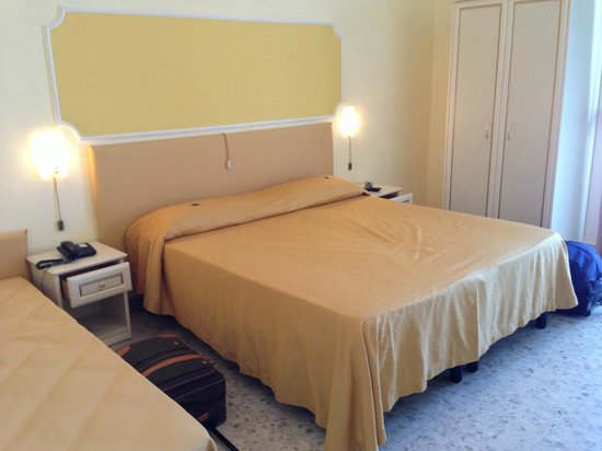 Il Nido Hotel Sorrento : Comfy bed