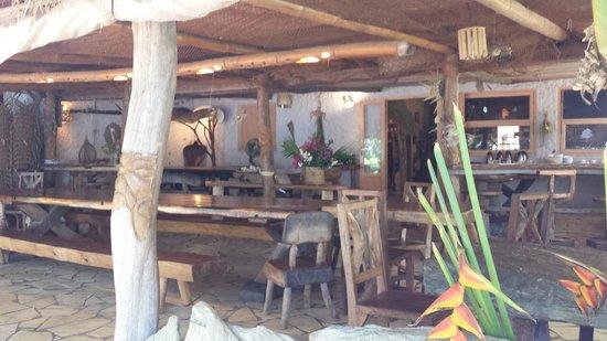 Le Relais de Poingam: espace repas