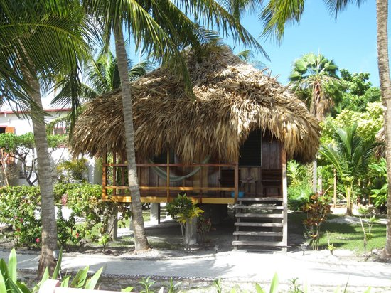 St. George's Caye Resort: Our cabana