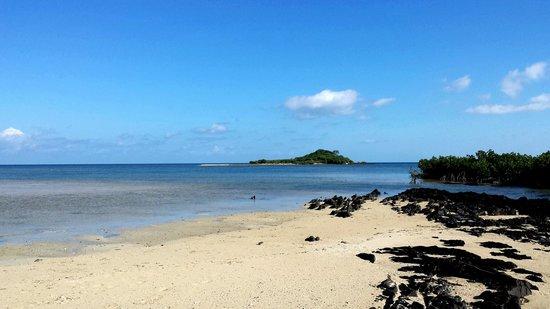 Le Relais de Poingam: plage
