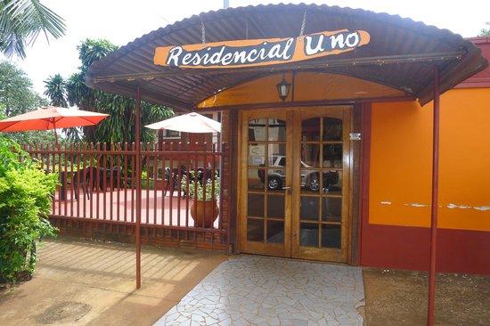 Residencial Uno: entrada