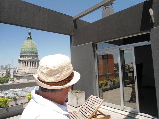 Hotel Uno: Terraço.