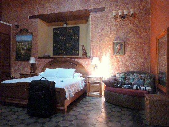 Casa Xanadu: Room
