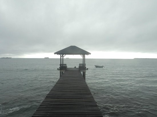 Siargao Paraiso Resort: View from jetty looking out