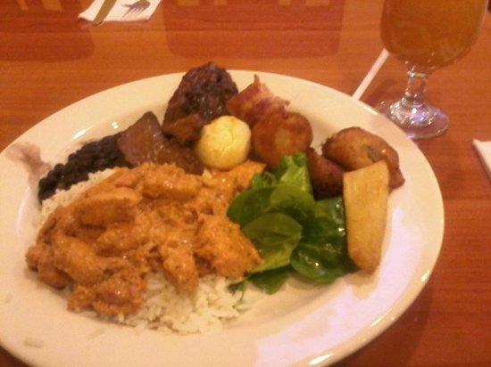 Gol brazilian Restaurant: +What I got from the buffet