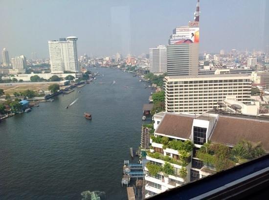 Shangri-La Hotel,Bangkok : view from hotel