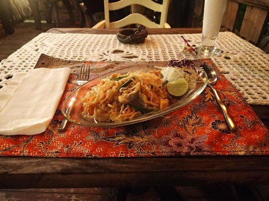 Gecko Cabane Restaurant: Pad Thai...my favourite