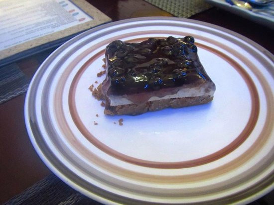Saylo Cuisoine: Blueberry Cheesecake