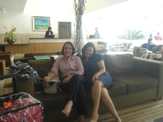 Portobello Ondina Praia Hotel: minha filhota e eu