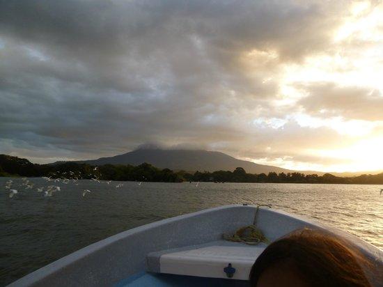 Islets of Granada: View of Mombacho Volcano