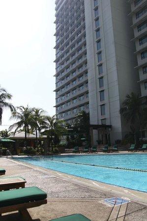 New World Makati Hotel : Pool Area