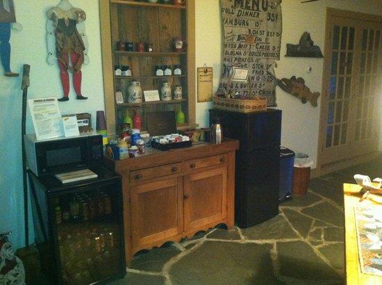 Inn At Buck Hollow Farm: Sun room