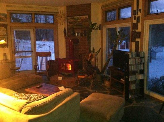 Inn At Buck Hollow Farm : Sun room