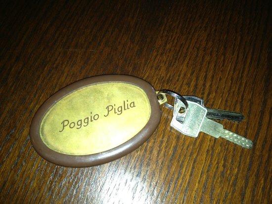 Poggio Piglia: Even the keys have charm