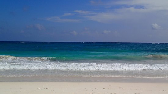 Ixchel Playa & Cabanas: Beach in front of Ixchel