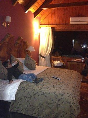 Charming Luxury Lodge & Private Spa : HAB PRINCIPAL