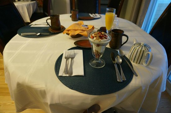 The Cranford Inn: Breakfast