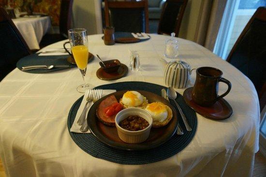 The Cranford Inn: Breakfast