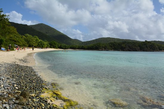 Little Lameshur Bay: amazing water and snorkeling + tranquil